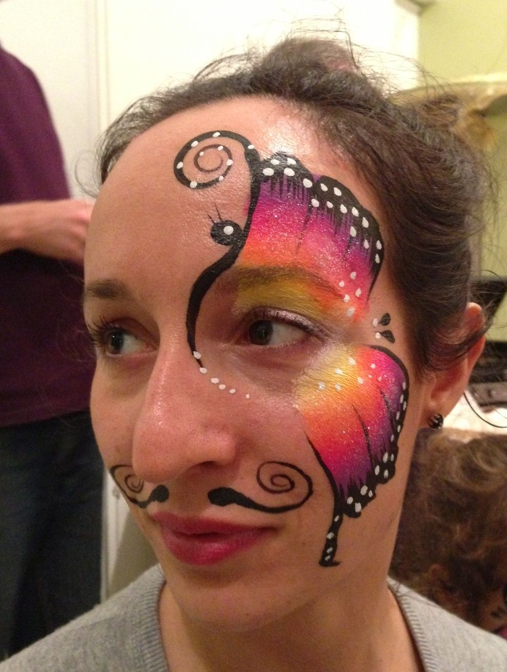Adult face painting pictures