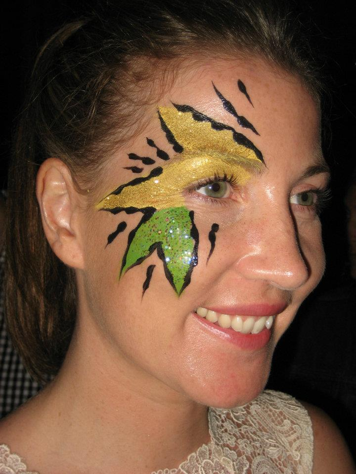 Glitter me nyc facepaint body paint make up design for Face painting for parties