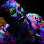 uv lizard body paint www.glittermenyc.com