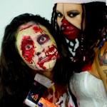 Zombie Make-Up www.glittermenyc.com