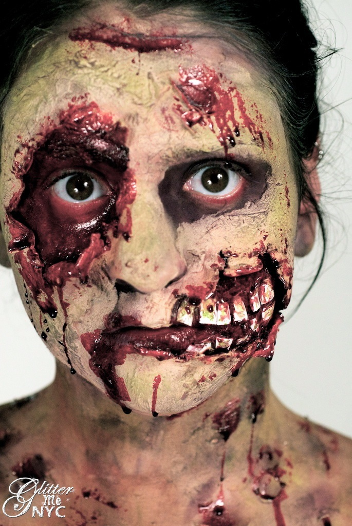 Zombie Body Paint | Body Painting Pictures