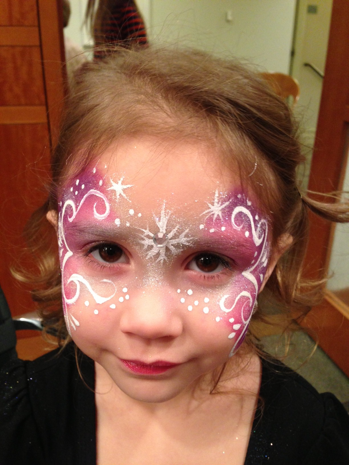 kid's holiday face painting www.glittermenyc.com ‹ Glitter